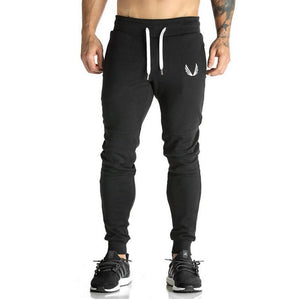 Newest 5 Star Cotton Men's Full Sportswear Pants Casual Elastic Mens Fitness Workout  Skinny Sweatpants