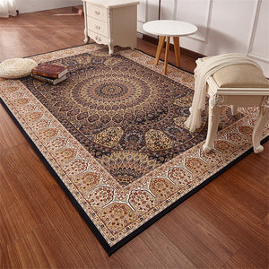 Persian Style Carpets For Living Room Large 200x290CM Bedroom Rugs And Carpets Classic Turkey Study Floor Mat Coffee Table Area