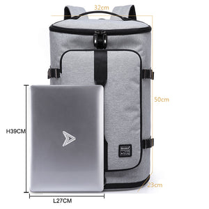 KAKA 40L Men Backpack 15.6 Laptop bag Shoes Backpack Travel Sports Fitness Bags For Women Teenagers School Bagpack Rucksack