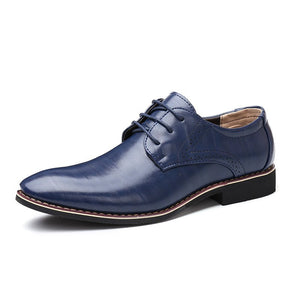 Newest Men's shoes oxford leather formal office classic dress footwear shoes wedding shoes