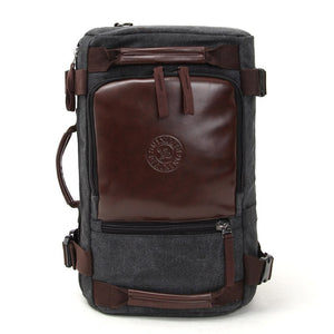 Canvas Backpack Travel Bag portable Shoulder Messenger multifunctional large capacity computer package