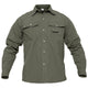 TACVASEN Quick Dry Shirt Men Hiking Shirt Removable Military Tactical Shirts With Pockets Hunting Shirt Fishing Shirts Outdoor