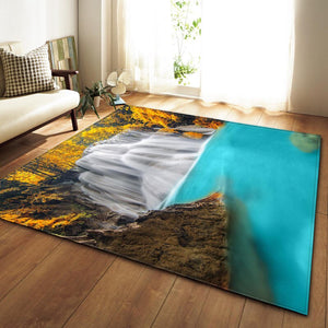 Modern Style MIX Striped Large Size Carpet Bedroom Rug Non-slip Carpets For Living Room Super Soft Door Mat