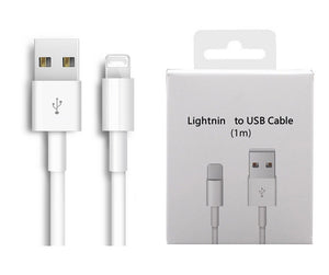 Original USB Cable Fast Charging USB Charging Data Sync Cable For iPhone X 8 7 6 6S Plus 5 5S For iPad Air Charger Cord With Box