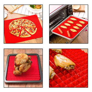 Practical Creative Pyramid Silicone Baking Mat Nonstick Pan Pad Cooking Mat Oven Baking Tray Mat Kitchen Bakeware Gadgets