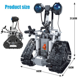 ERBO 408PCS City Creative RC Robot Electric Building Blocks Technic remote Control Intelligent Robot Bricks Toys For boys