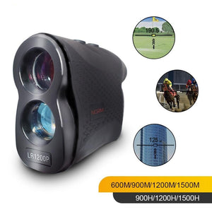 NORM Laser Rangefinder 600M 900M 1200M 1500M Laser Distance Meter for Golf Sport, Hunting, Survey