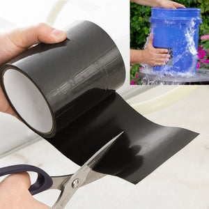 145x10cm Super Strong Fiber Waterproof Tape Stop Leaks Seal Repair Tape Performance Self Fix Tape Fiberfix Adhesive  duct tape