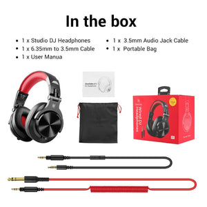 Gaming Headset Studio DJ Headphones Stereo Over Ear Wired Headphone With Microphone For PC PS4 Xbox One Gamer