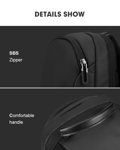 Multifunction Crossbody Men Bags Waterproof USB Charging Chest Pack Short Trip Messengers Chest Bag Shoulder Bag Male