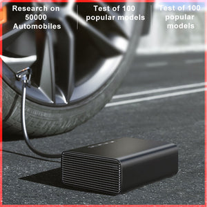 Intelligent Car Air Compressor Tire Inflatable Pump 12V Portable Auto Tyre Inflator for Car Tires