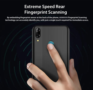Smartphone MTK6761 Quad Core Android 9.0 4080mAh Cellphone 3GB+16GB Waterdrop Screen Face ID 4G Mobile Phone