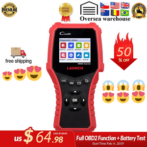 Newest & High Quality Cars OBD2 OBDII Auto Scanner X431 Creader OBD 2 Engine Code Reader free update PK AD510 KW850 Diagnostic tool