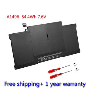 "Apple MacBook Air 13"" (Mid 2013+ Early 2014+Early 2015) A1466 (7,2+6,2) Battery Model A1496  54.4Wh 7.6V  with tools"
