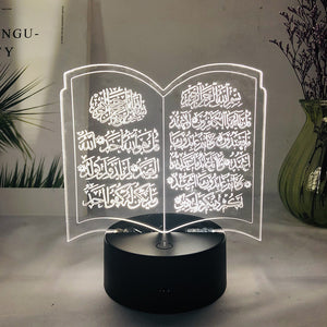 New Eid Adha Holiday DIY Decorations Local Eid al Adha Led light eid mubarak Ramadan Decorations home decoration ramadan kareem