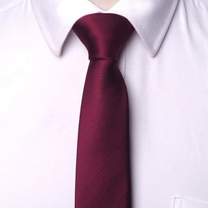 Men ties necktie Men's business wedding tie Male Dress legame gift gravata England Stripes 6cm
