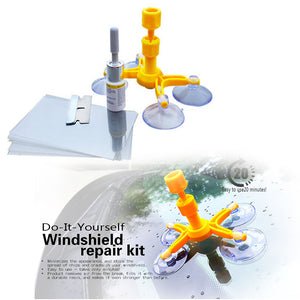 Newest Best Brand Car Windshield Repairing Kits & Tools (Glass Scratches) & ( Windscreen Cracks) & (Restoring Car Window Screen Polishing)