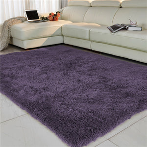 Ultra Soft Indoor Area Rug Thick Shaggy Bedroom Living Room Carpets for Kids Nursery Room