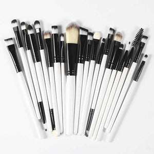 Hot Brand Sale 20Pcs Professional Set Powder Makeup  Eyeshadow Brushes  Cosmetics & Soft Synthetic Hair