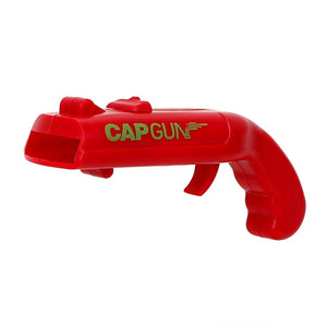 Newest Cans Openers Spring Cap Launcher Gun Designed Bar Tool Any Drink Opening Shooter Beer Bottle Opener Creative