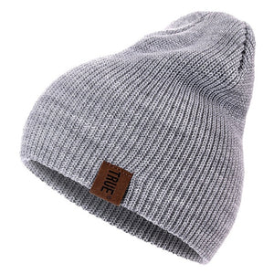 Christmas Eve Top Bes True Beanies for Men's n Women's  Solid Hip-hop Beanie  Knitted Warm Winter Hat