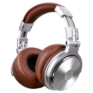 Original Headphone Professional Studio Dynamic Stereo DJ Headphones With Microphone HIFI Headset Monitoring For Music