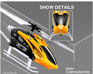 RC Helicopter 2 CH 2 Channel Mini RC Drone With Gyro Crash Resistant RC Toys For Boy Kids Gift Red Yellow