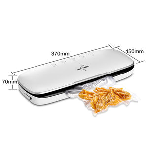 Best Electric Vacuum Sealer Machine 220V 110V With 10pcs Food Saver Bags Household Automatic Packaging Machine