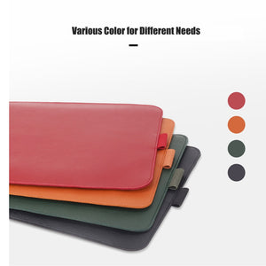 PU Leather Laptop Case For Macbook Air 13 2018, Laptop Sleeve with holder 11 12 13 15 inch Notebook Bag for macbook pro 13 15