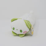 Green Panda Pencil Case - Yell Japan Plush - Pouch