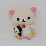 Korilakkuma with Penguin Plush (No Tag) - San-X Rilakkuma