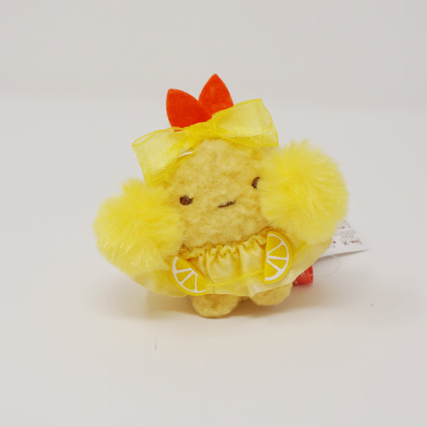 Ebi Fry no Shippo in Lemon Skirt Cheerleader Tenori Plush - Sumikkogurashi Collection Fried Sumikko Theme 2020