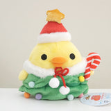 kiiroitori christmas plush san-x tree