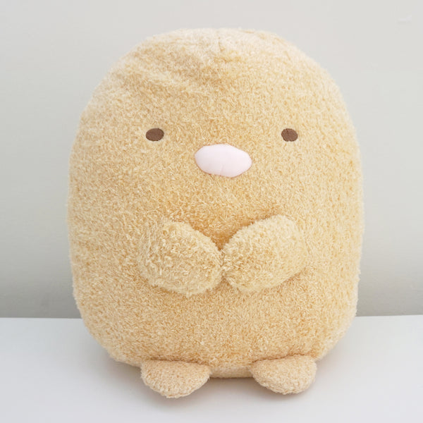 large tonkatsu plush from san-x japan