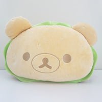jumbo rilakkuma burger cushion