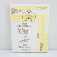 Rilakkuma Sleepy Letter Set