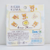 Rilakkuma Drop Seal Stickers