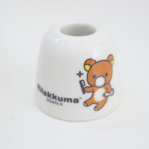 rilakkuma toothbrush holder