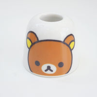 rilakkuma face on toothbrush holder