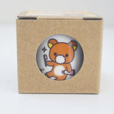 rilakkuma toothbrush holder in box