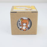 rilakkuma brushing teeth design on toothbrush stand