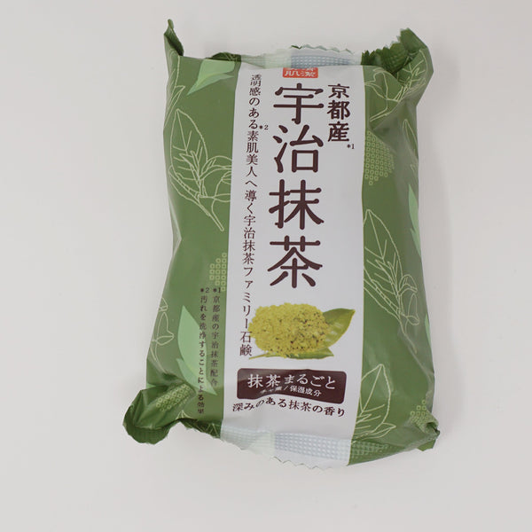 Green Tea Soap with Kyoto Uji Matcha (Clearing) - Pelican Japan