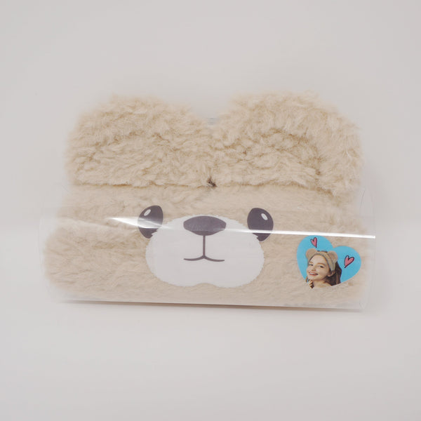 "Bear Ears ""Kumamimi"" Fuzzy Headband Brown Hairband - Oheya Japan"