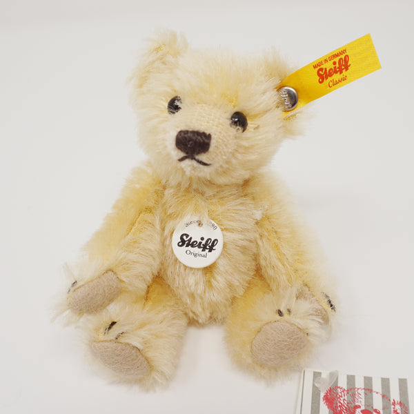 Mini Teddy Bear Blond Collectible - Steiff Classic