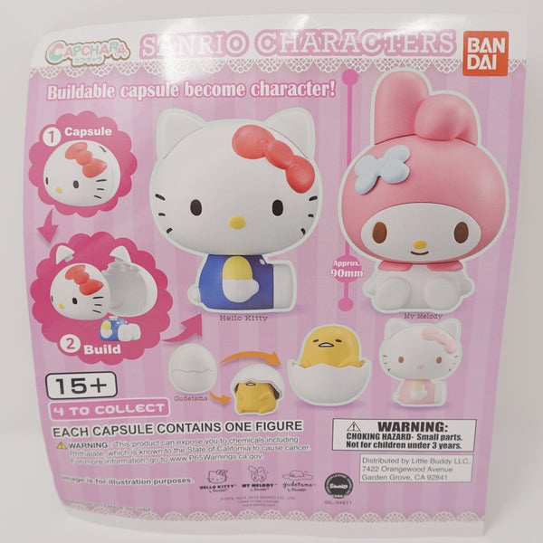 Sanrio Capchara Buildable Capsule Figure - Sanrio Gashapon Base Figure