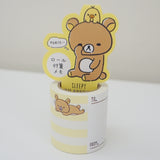 Rilakkuma Sleepy Roll Memo