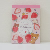 rilakkuma in strawberry design