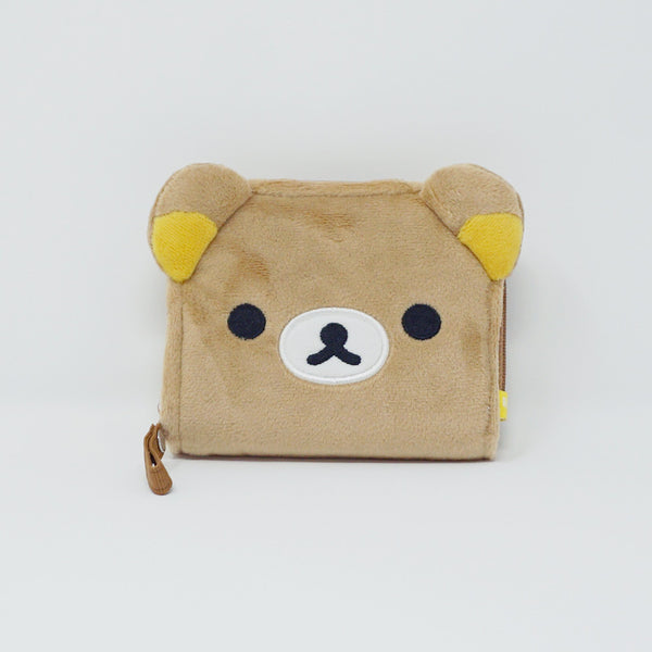 Rilakkuma Plush Zipper Wallet