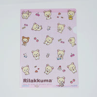Korilakkuma Folder - Classic Design