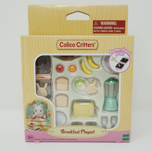 Breakfast Play Set - Calico Critters